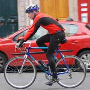 """Adrian Brewin s'entraîne pour l'événement """"Pyrénées"""" organisé par le Macmillan Cancer Support"""